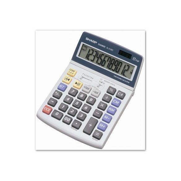 Sharp EL-2125C asztali számológép
