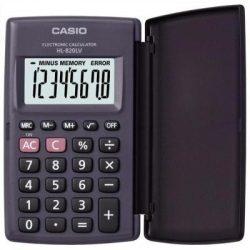 Casio HL-820LV fekete zsebszámológép