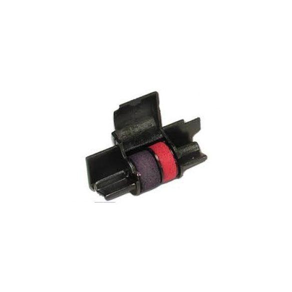 Casio IR 40T Festékhenger HR-100/150/200/FR-520/2650/620 (fekete/piros)