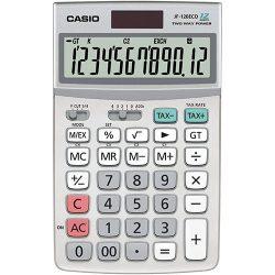 CASIO ECO JF-120ECO környezetkímélő asztali számológép