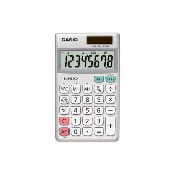 Casio ECO SL-305ECO környezetkímélő zsebszámológép
