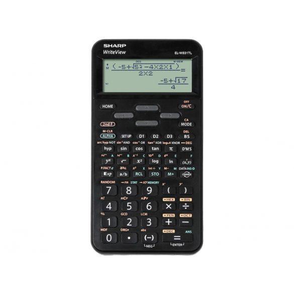Sharp EL-W531TLB-BK tudományos számológép